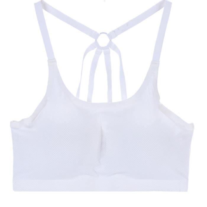 gorge Sports Lafayestore®les Bretelles Des vêtements De Sans Couture Sexy Libres Femmes Filent Rembourrées Sous Soutien P4P61