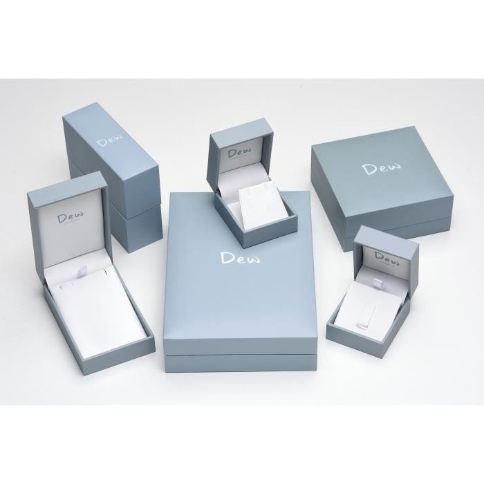 Plaque Argent Or Rose sterling et zircon Coeur Boucles doreilles OUNSX