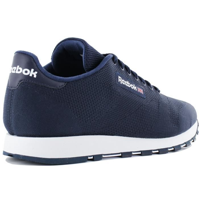Homme Ultk Classic Bleu Leather Chaussures Sneaker Baskets Cm9877 Reebok qAfBHwx