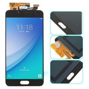 ECRAN DE TÉLÉPHONE noir écran complet assemble pour Samsung Galaxy C5