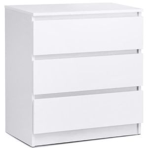 Commode blanc - Achat / Vente Commode blanc pas cher - Cdiscount
