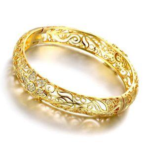 BRACELET - GOURMETTE Bracelet élégant Accessoires pour femmes 18k jaune