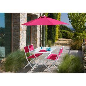 Salon de jardin parasol - Achat / Vente pas cher