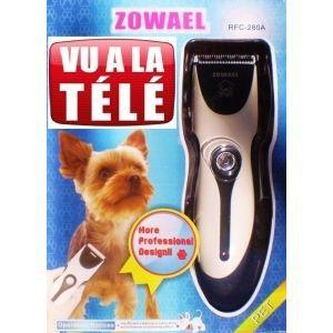 TONDEUSE POUR ANIMAL Tondeuse pour chiens rechargeable zowael