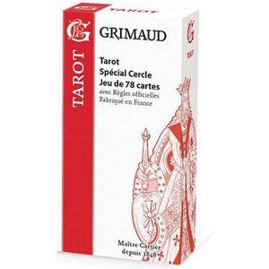 CARTES DE JEU Grimaud Origine Tarot Spécial cercles - jeu de 78