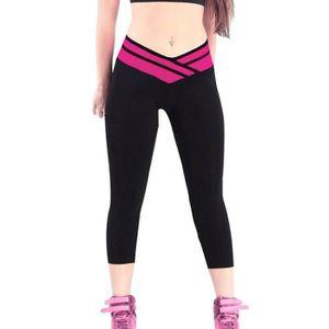 pantalon sport femme fitness achat vente pas cher cdiscount. Black Bedroom Furniture Sets. Home Design Ideas