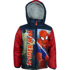DOUDOUNE Marvel Spiderman Doudoune à capuche Rouge