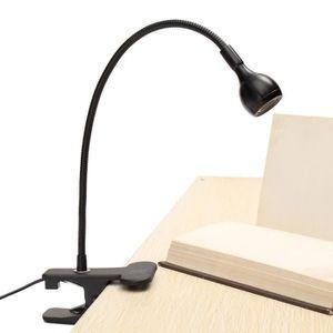 LAMPE A POSER Lampe à Pince De Lecture LED Adjustable USB Rechar