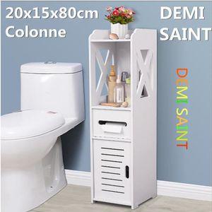 ARMOIRE DE TOILETTE TEMPSA Armoire de Rangement Meuble Toilette Etagèr