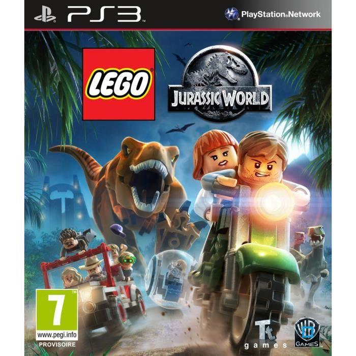 Lego jurassic world jeu ps3 achat vente jeu ps3 lego jurassic world ps3 cdiscount - Jeux de lego sur jeux info ...