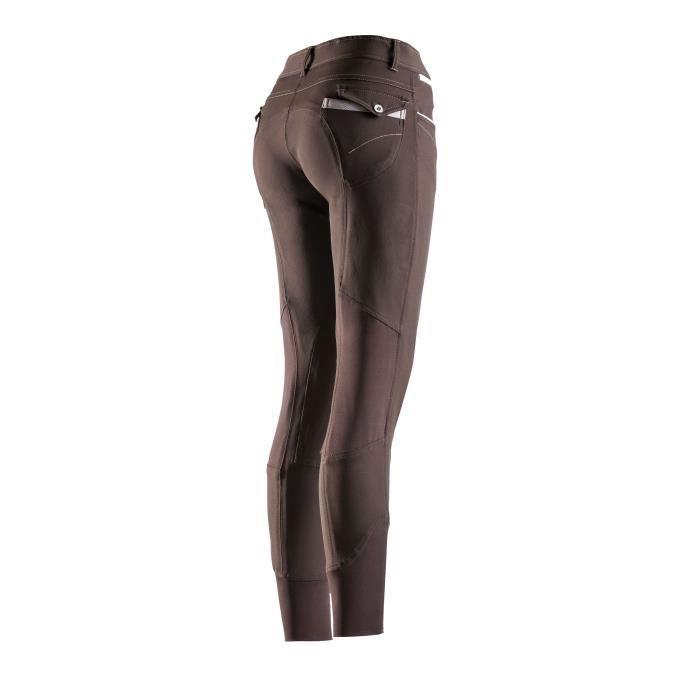 EQUI-THEME Pantalon d'équitation Léa - Femme - Marron