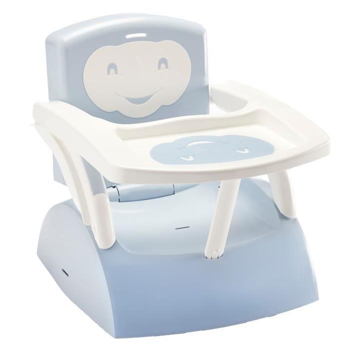 THERMOBABY Rehausseur de chaise - Fleur bleue