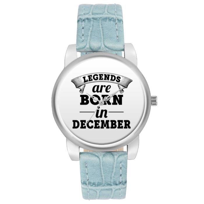 Femmes Montres de - Légendes naîtront en décembre Montres de marque de mode pour les filles - Meilleur Casu ZOLEE