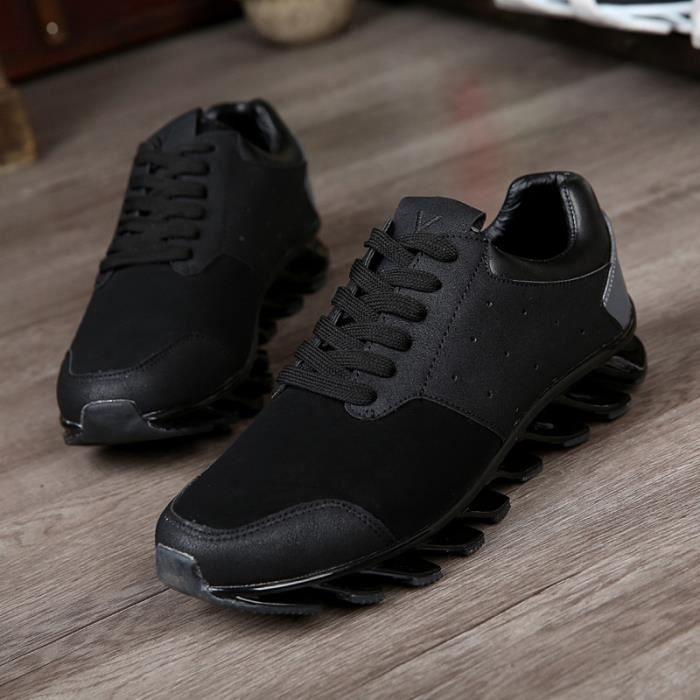 En Casual De Bottom Chaussures Homme Nouveaux Cuir Sneakers Personnalité La Chaussures Épais Sandales zq6nnwZXE