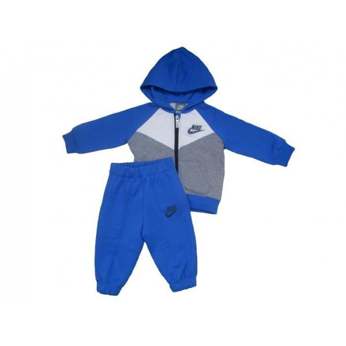 Survêtement Bébé Nike Blue Grey bleu gris - Achat   Vente ensemble ... aa6588ab73a