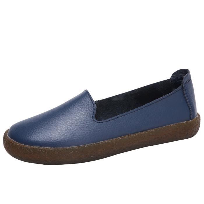 Noir en martin love4185 à cuir femme carré plates Beguinstore® bottes verni enfiler chaussures bout Mode occasionnels QCBxshdtro