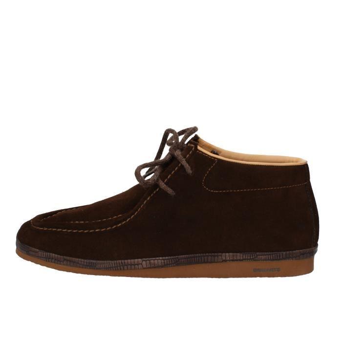 Daim Bottine Homme Ad171 Brimarts Chaussures Marron pxStC4