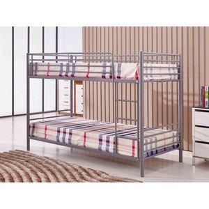 lit mezzanine adulte achat vente pas cher. Black Bedroom Furniture Sets. Home Design Ideas