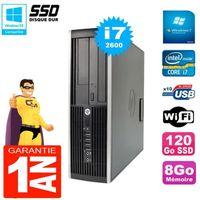 UNITÉ CENTRALE + ÉCRAN PC HP Compaq 8200 SFF Core I7-2600 RAM 8Go Disque