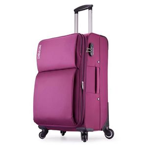 VALISE - BAGAGE Partyprince Vise Souple bagage cabine 4 Roues 56cm