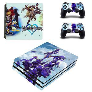 STICKER - SKIN CONSOLE Anime Kingdom Hearts Autocollants en vinyle pour l