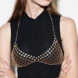 CHAINE DE TAILLE - CHAINE D'EPAULE Femmes Bijoux chaîne Bikini taille d'or ventre esc