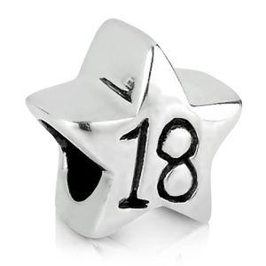 Charm's 18ème anniversaire de la femme (ans) Silver Star C