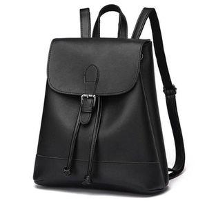 2faec94f1e27a SAC À DOS sac a dos cuir classique décontractées sac femme B ...