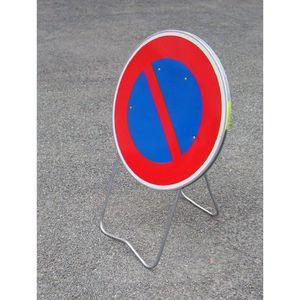 CONE - RUBAN CHANTIER Panneau BK6 Stationnement interdit