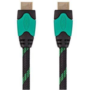 CÂBLE JEUX VIDEO Cable HDMI Xbox One 4K 3M Vert/Noir Under Control