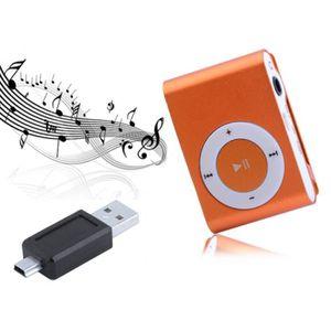LECTEUR MP3  MP3 lecteur de musique Mini Clip Métal USB Avec M