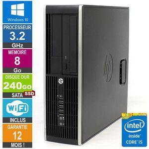 UNITÉ CENTRALE  PC HP Pro 6300 SFF Core i5-3470 3.20GHz 8Go/240Go