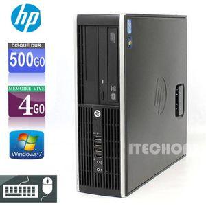 UNITÉ CENTRALE   HP Compaq 6200 Pro - Core i5 2500 3.3 GHz - RAM 4
