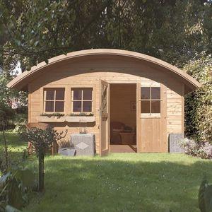 site réputé 2b8fd 226ad Abri de jardin bois 16,89 m2 JORDSUND 2 (28mm) … - Achat ...