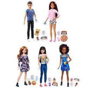 POUPÉE Mattel Barbie-Poupée babysitter