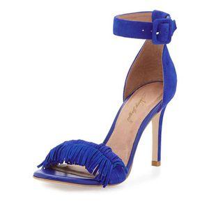 ESCARPIN Chaussures femmes en cuir de daim, talons aiguille
