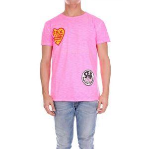 5931deeab238c Tshirt fluo - Achat   Vente pas cher