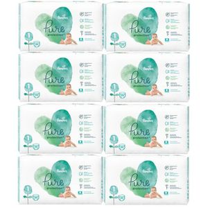 COUCHE 280 Couches Pampers Pure Protection Taille 1 Newbo