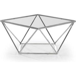 TABLE BASSE Table Basse Design En Verre
