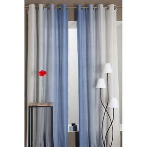 rideaux 280 hauteur achat vente rideaux 280 hauteur pas cher cdiscount. Black Bedroom Furniture Sets. Home Design Ideas