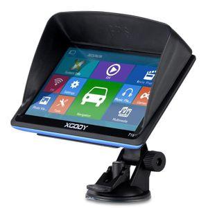 GPS AUTO XGODY 7'' GPS Système de Navigation Voiture Poids