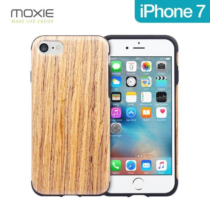 COQUE - BUMPER Coque Moxie Medium Wood pour iPhone 7/8