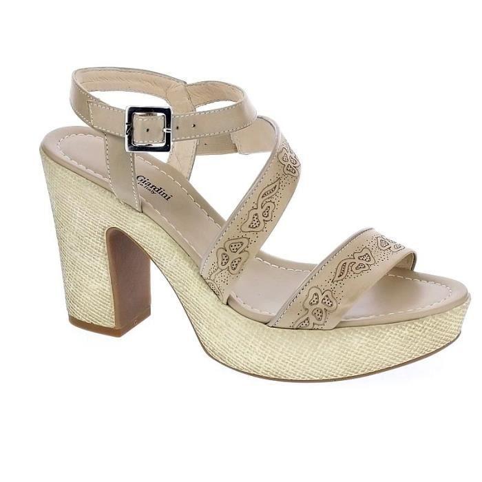 5630 Beige Sandales Giardini Femme Chaussures Modèle Nero qUtXfnYw