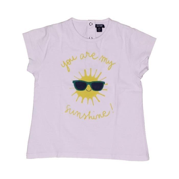 9fcef98356060 T-shirt manches courtes enfant garçon KIABI 2 ans blanc été - vêtement bébé   1040749