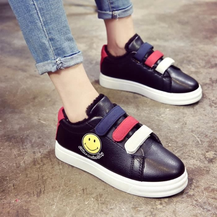 Basket rose Femme Sneakers noir Chaussures Hiver Chaussure Blanc Women 5HHqw8xA