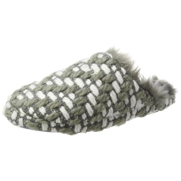 Femmes 1hgnq4 38 Knitty Ouverte Taille Pantoufles Mule Esprit Swdqx1S