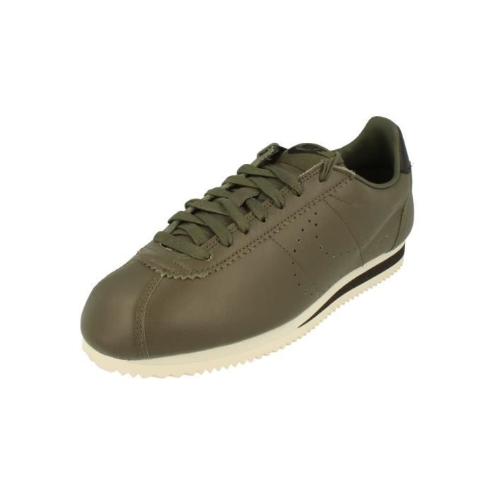 Nike Chaussuress Classic Cortez Leather Prem Hommes Trainers 861677 Chaussuress Nike 56c3f2