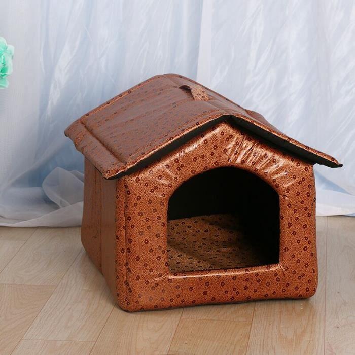 panier chien maison great luxe pet panier igloo pour chienchat souple confortable maison lit. Black Bedroom Furniture Sets. Home Design Ideas