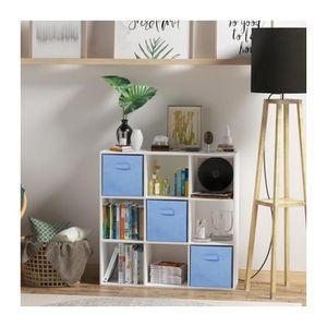 Cube de rangement achat vente cube de rangement pas cher cdiscount - Meuble 9 cases ...