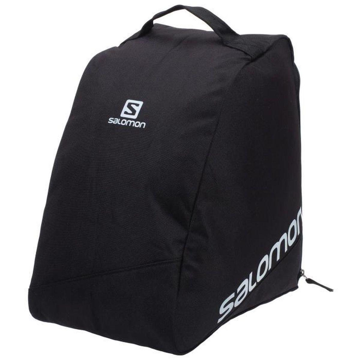 De Sac Ski Bootbag Black Noir Salomon Uni Chaussures Original doerxBC